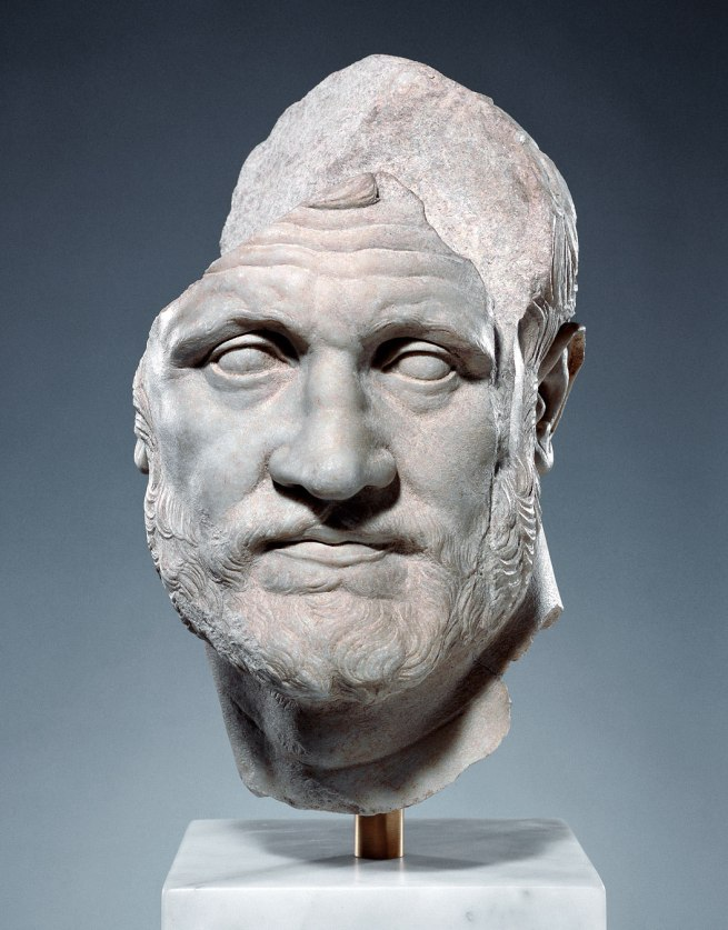 Portrait of a Man About 150 B.C.