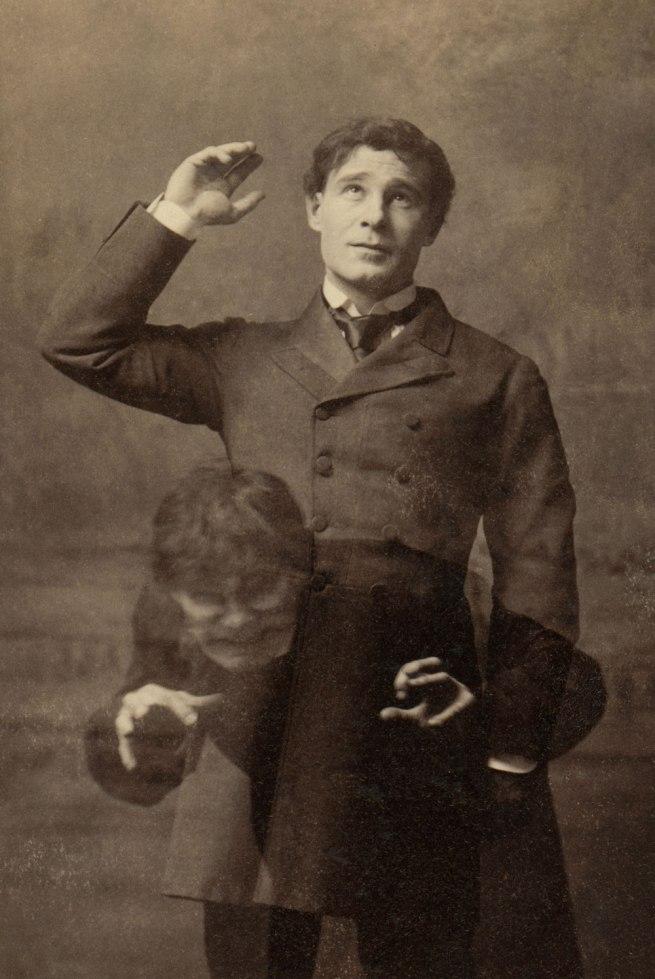 Henry Frederick Van Der Weyde, 182 Regent Street, London. 'Richard Mansfield as Dr Jekyll and Mr Hyde' c. 1888 (detail)