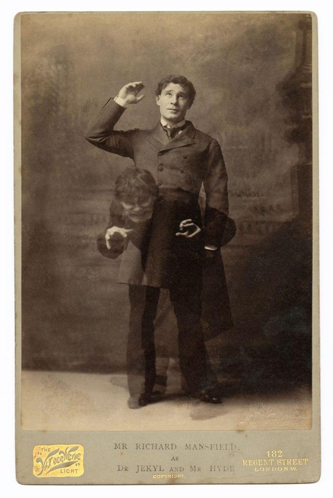 Henry Frederick Van Der Weyde, 182 Regent Street, London. 'Richard Mansfield as Dr Jekyll and Mr Hyde' c. 1888