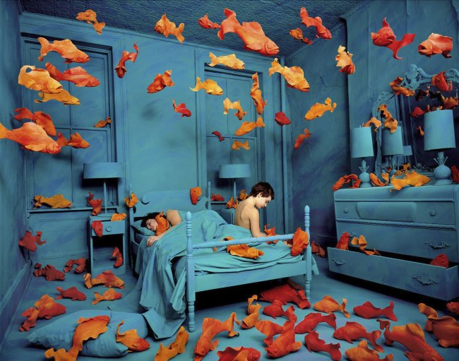 Sandy Skoglund. 'Revenge of the Goldfish' 1981