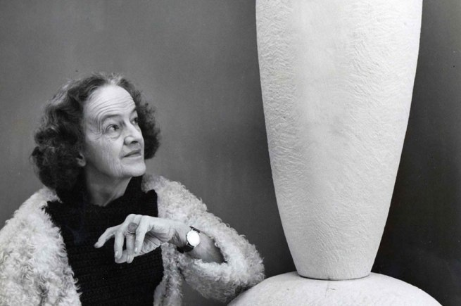 Sculptor Barbara Hepworth
