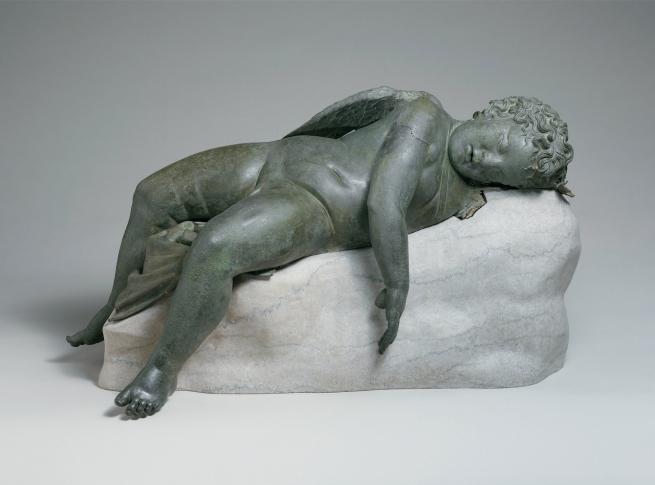 Sleeping Eros 300-100 B.C.