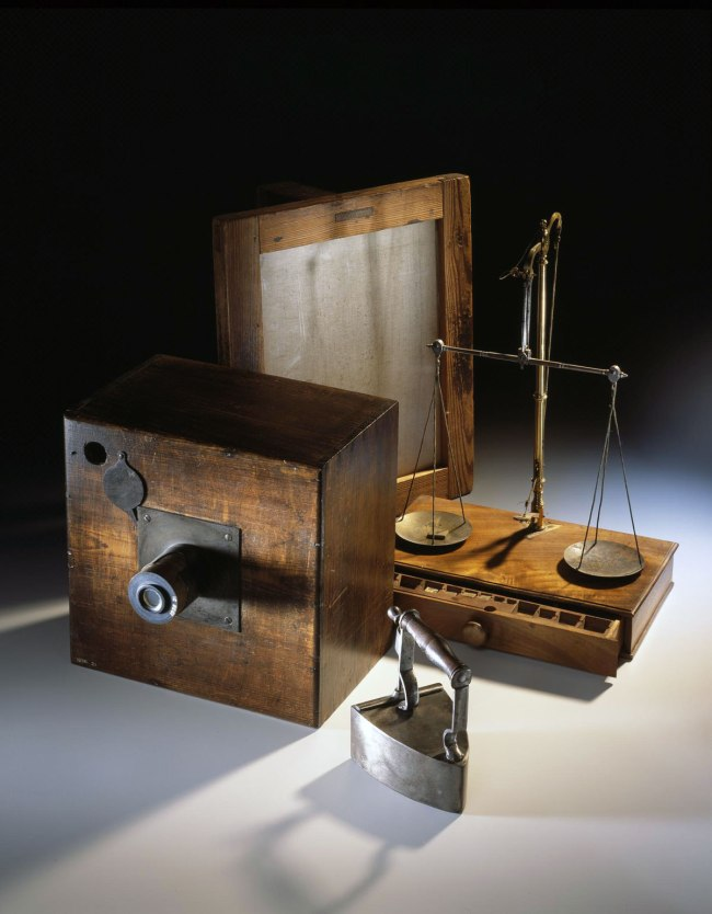 William Henry Fox Talbot. 'Talbot's calotype photography equipment' c. 1840