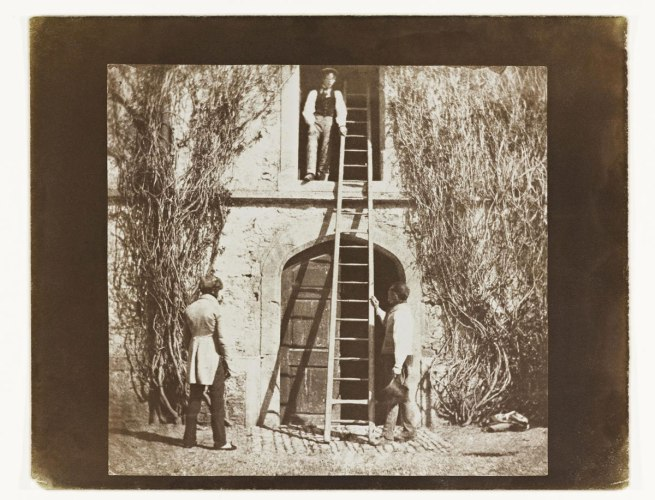 William Henry Fox Talbot. 'The Ladder' 1844-46