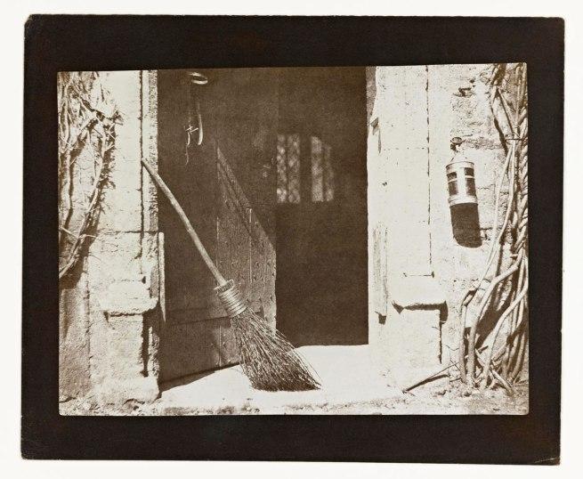 William Henry Fox Talbot. 'The Open Door' 1844-46