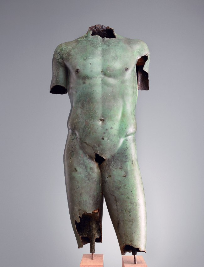 "Torso of a Youth ""The Vani Torso"" 200-100 B.C."