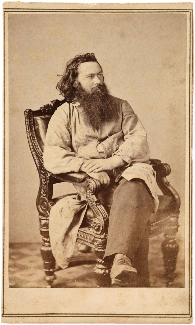 James Gardner. 'Portrait of Alexander Gardner' 1863