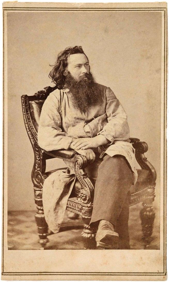 James Gardner. 'Portrait of Alexander Gardner' 1863