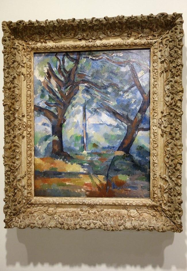 Paul Cézanne (France, 1839-1906) 'The big trees' c. 1904