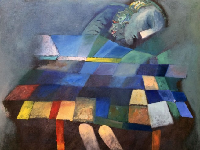 Charles Blackman (b. 1928) 'Dream Image' 1963 (detail)