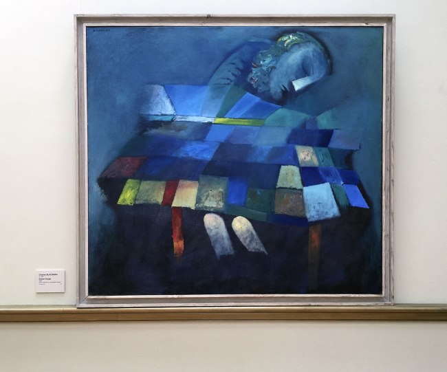 Charles Blackman (b. 1928) 'Dream Image' 1963