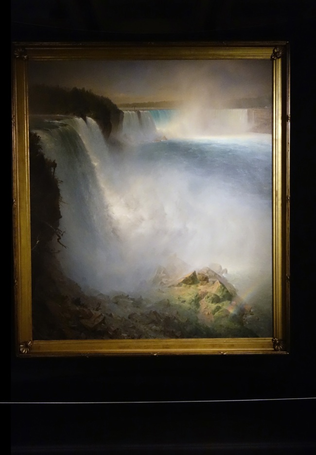 Frederic Edwin Church (USA, 1826-1900) 'Niagara Falls, from the American side' 1867