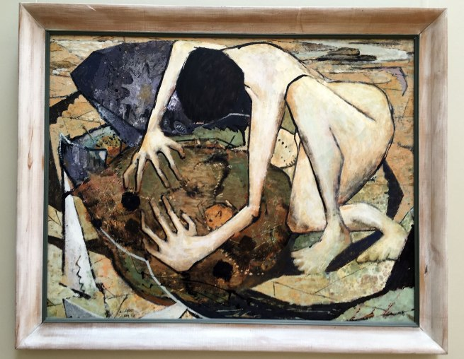 Clifton Pugh (1924-1990) 'The Crab Catcher' 1958