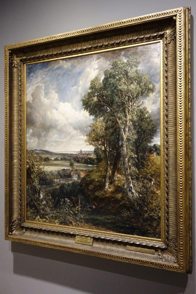 John Constable (England, 1776-1837) 'The Vale of Dedham' c. 1827-28