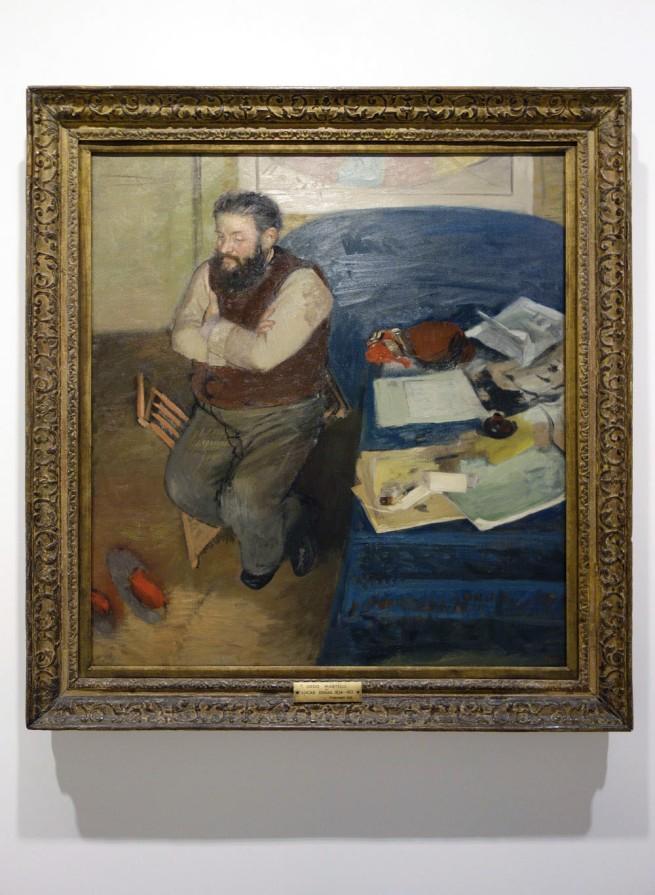 Edgar Degas (France, 1834-1917) 'Diego Martelli' 1879