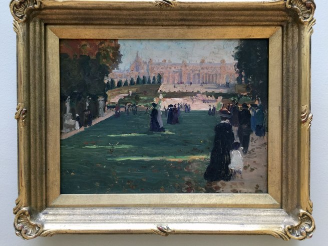 Ethel Carrick (1872-1952) 'Untitled (Royal Avenue, Versailles)' c. 1909