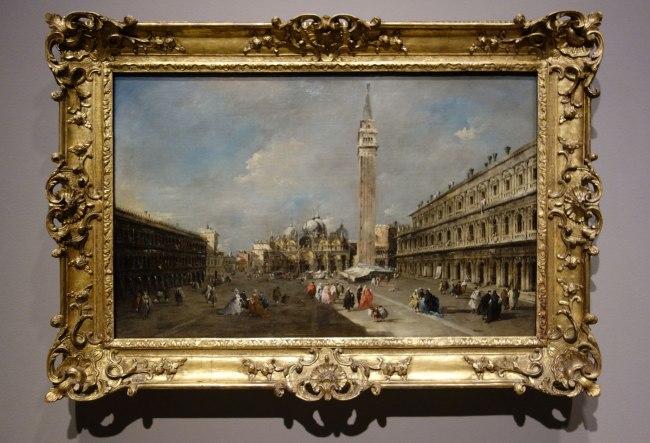 Francesco Guardi (Italy, 1712-93) 'The Piazza San Marco, Venice' c. 1770-75