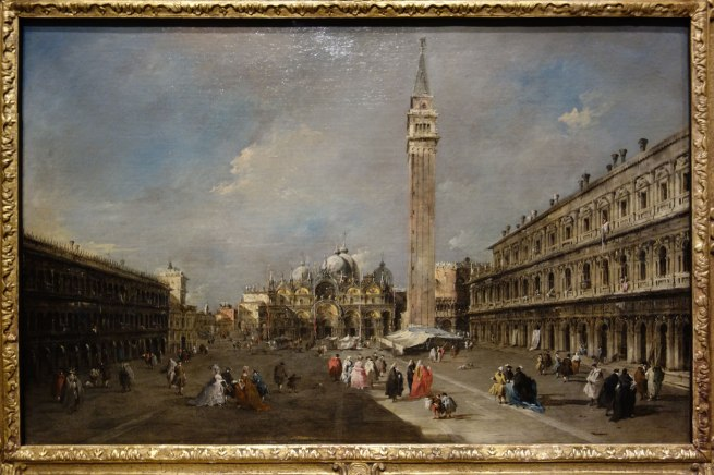 Francesco Guardi (Italy, 1712-93) 'The Piazza San Marco, Venice' c. 1770-75