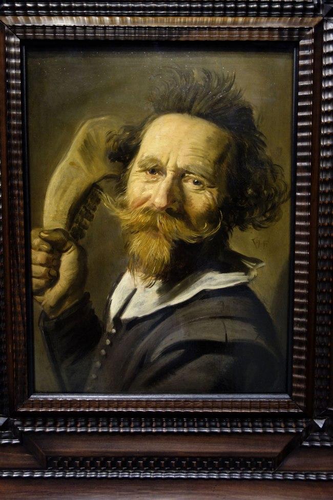 Frans Hals (The Netherlands, 1582/3-1666) 'Portrait of Pieter(?) Verdonck' c. 1627 (detail)