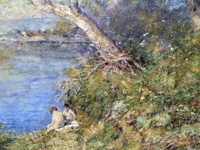 Frederick McCubbin. 'Golden sunlight' 1914 (detail)