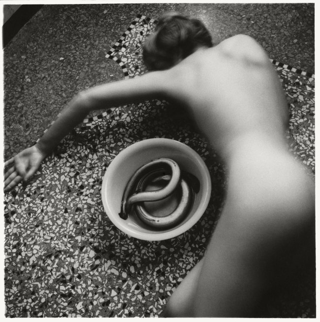 Francesca Woodman From 'Eel' series, Venice, Italy, 1978