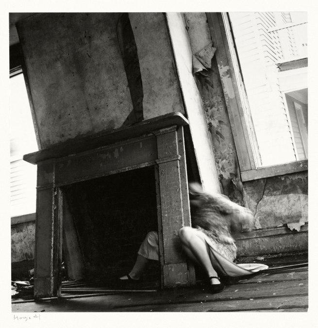 Francesca Woodman. 'House #4', Providence, Rhode Island, 1976