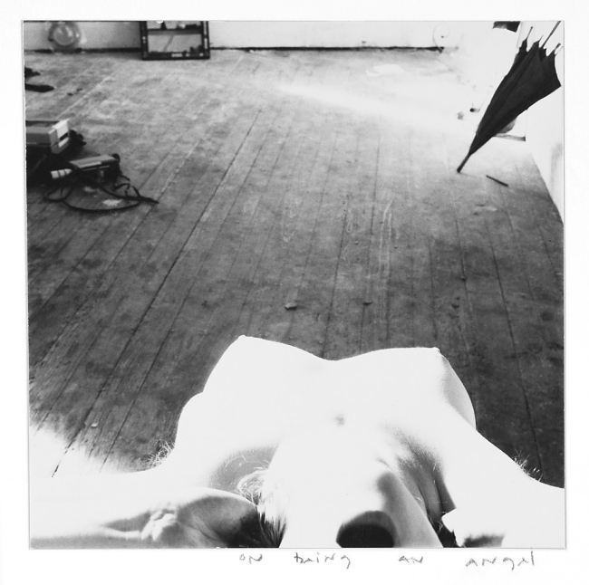 Francesca Woodman. 'On Being an Angel', Providence, Rhode Island, 1976