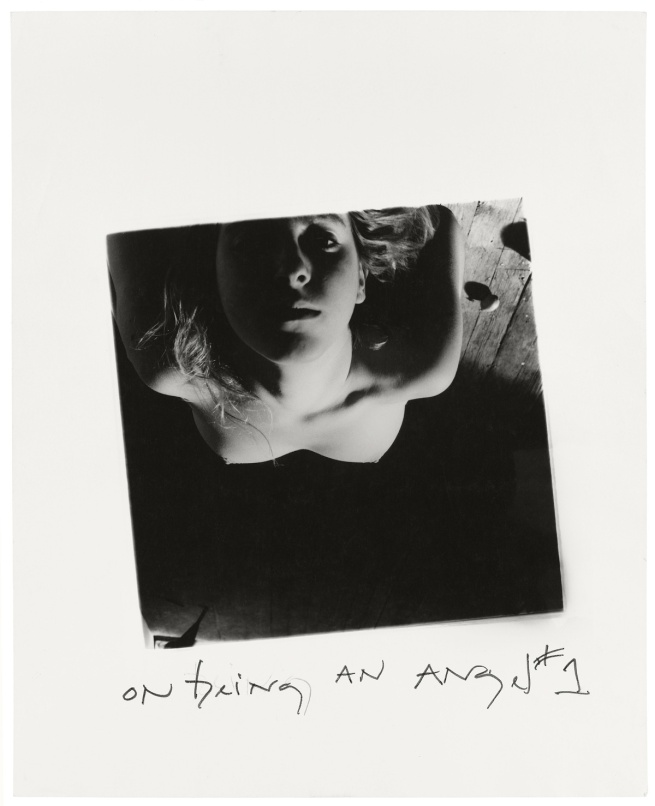 Francesca Woodman. 'On Being an Angel #1', Providence, Rhode Island, 1977
