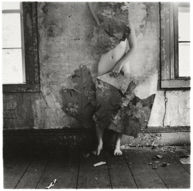 Francesca Woodman. 'From Space2', Providence, Rhode Island, 1976