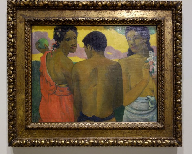 Paul Gauguin (France, 1848-1903) 'Three Tahitians' 1899