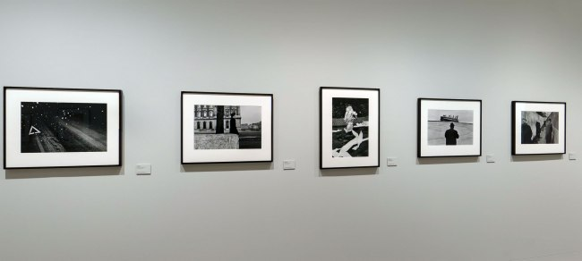 Installation view of the exhibition 'Josef Koudelka: Uncertain Nationality' at Fundación MAPFRE, Madrid