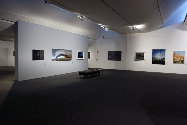 Installation view of William and Winifred Bowness Photography Prize 2015 at the Monash Gallery of Art