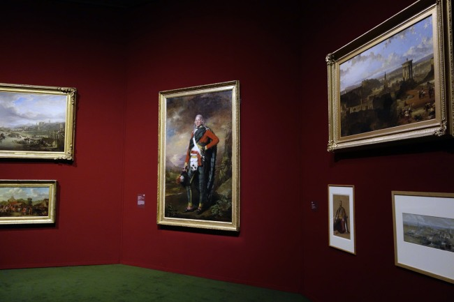 Installation view of the exhibition 'The Greats: Masterpieces from the National Galleries of Scotland' at the Art Gallery of New South Wales, Sydney