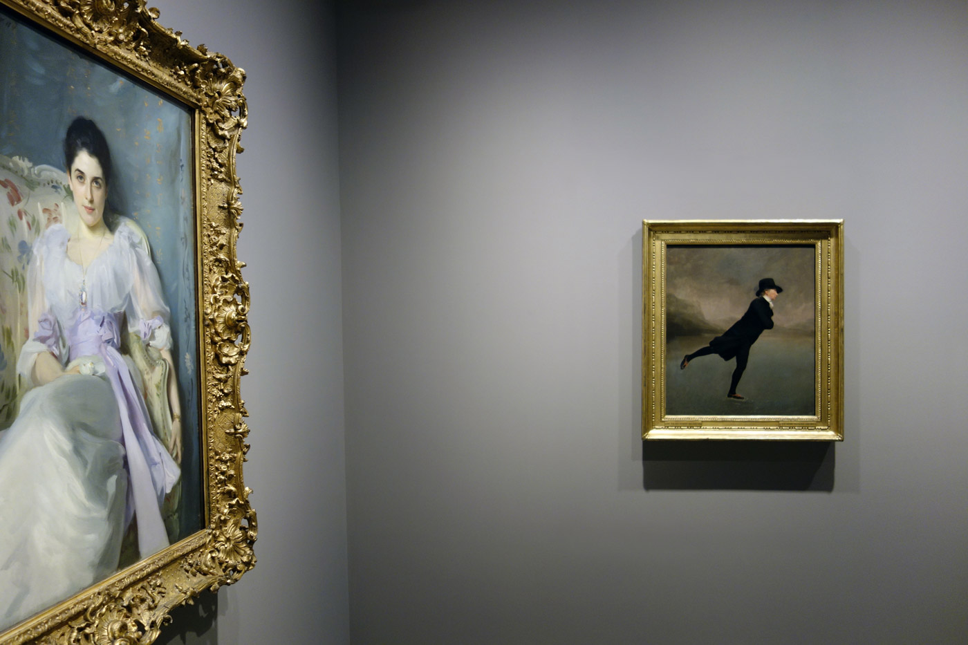 Installation view of the exhibition 'The Greats: Masterpieces from the National  Galleries of Scotland