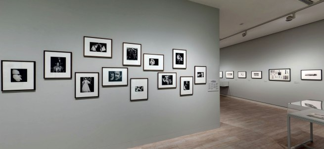 Installation view of the Theatre section of the exhibition 'Josef Koudelka: Uncertain Nationality' at Fundación MAPFRE, Madrid