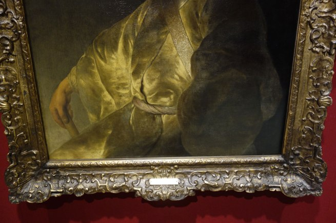 Jan Lievens (The Netherlands, 1607-74) 'Young man in yellow' (detail) c. 1630-31