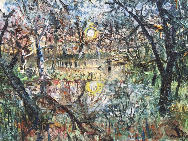 John Perceval (1923-2000) 'Double Sunset' 1961 (detail)