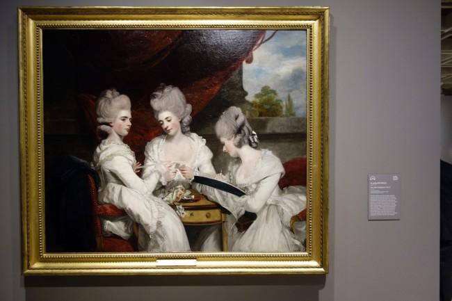 Sir Joshua Reynolds (England, 1723-92) 'The Ladies Waldegrave' 1780-81