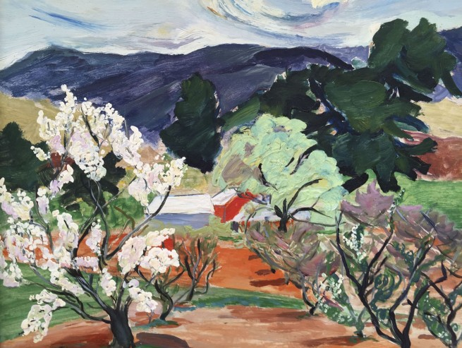 Lina Bryans. 'Plum Tree' 1947 (detail)
