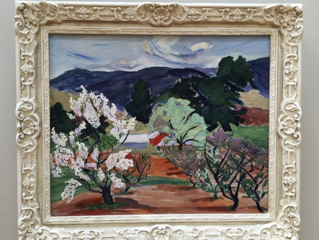 Lina Bryans. 'Plum Tree' 1947