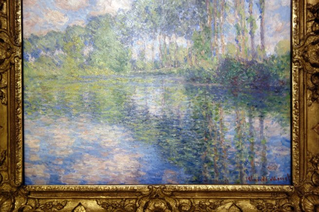 Claude Monet (France, 1840-1926) 'Poplars on the Epte' (detail) 1891