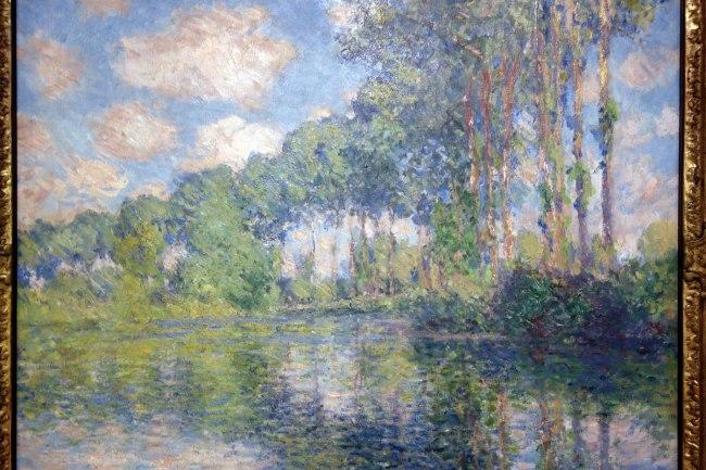 Claude Monet (France, 1840-1926) 'Poplars on the Epte' (detail) 1891