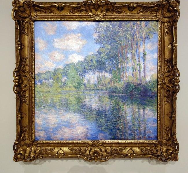 Claude Monet (France, 1840-1926) 'Poplars on the Epte' 1891