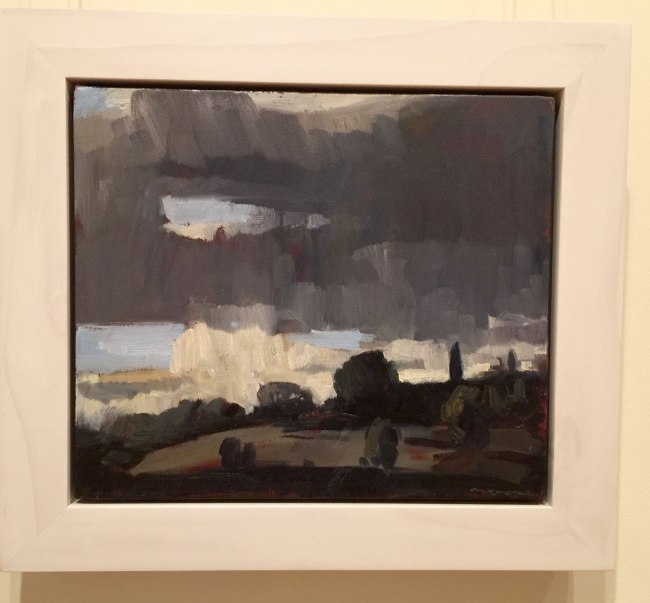 David Moore. 'Stormy sky' 2015