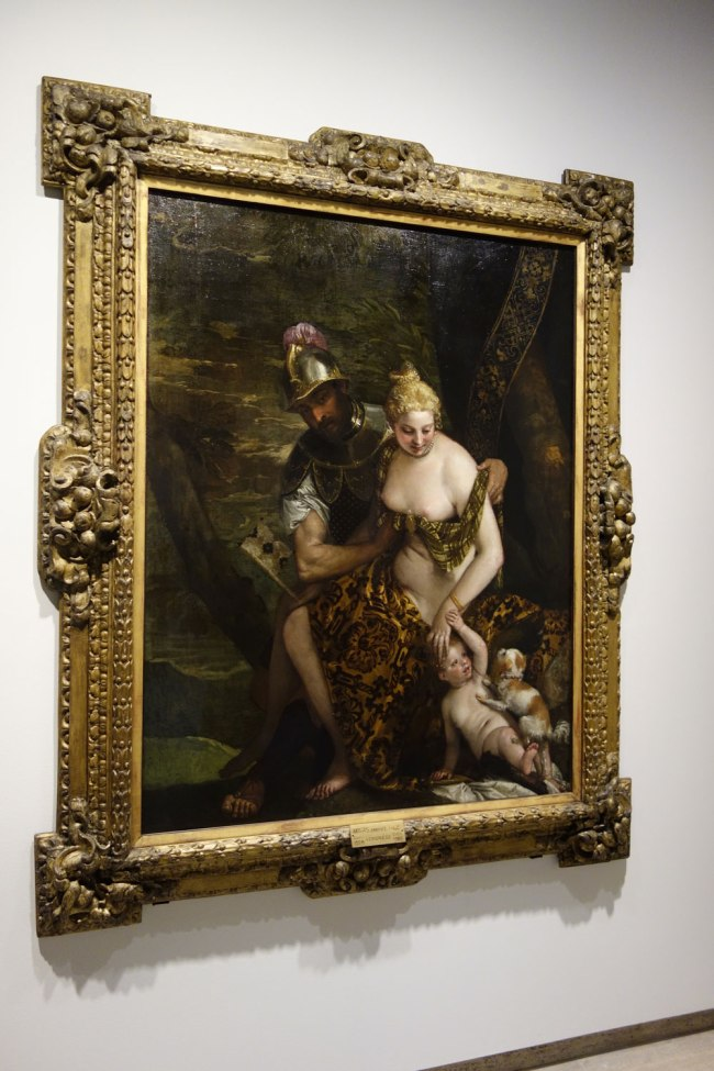 Paolo Veronese (Italy, 1528-88) 'Venus, Cupid and Mars' 1580s