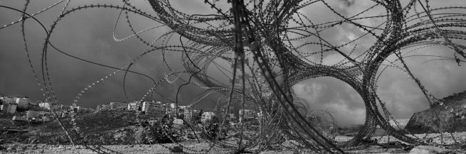 Josef Koudelka. 'Israel-Palestine (Al 'Eizariya [Bethany])' From the series 'Wall', 2010