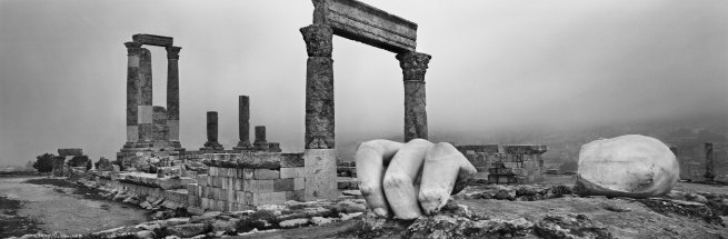 Josef Koudelka. 'Jordan (Amman)' from the series 'Archaeology', 2012