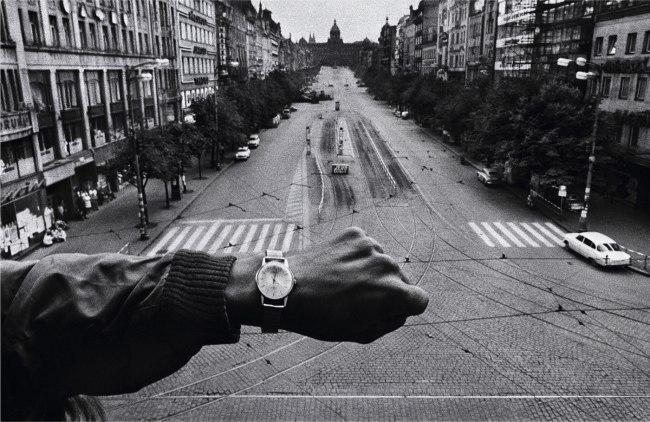 Josef Koudelka. 'Hand and wristwatch' 1968