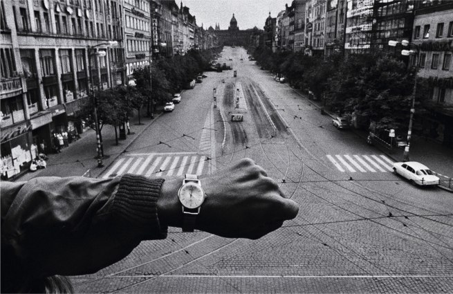 Josef Koudelka. 'Hand and wristwatch' 1968