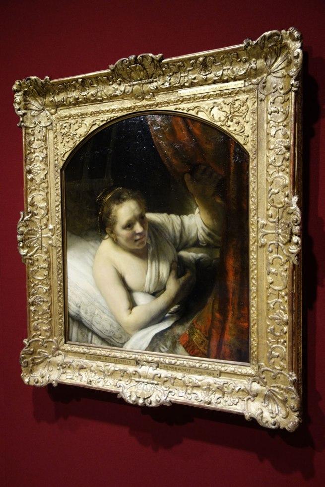 Rembrandt van Rijn (The Netherlands, 1606-69) 'A woman in bed' 164(7?)